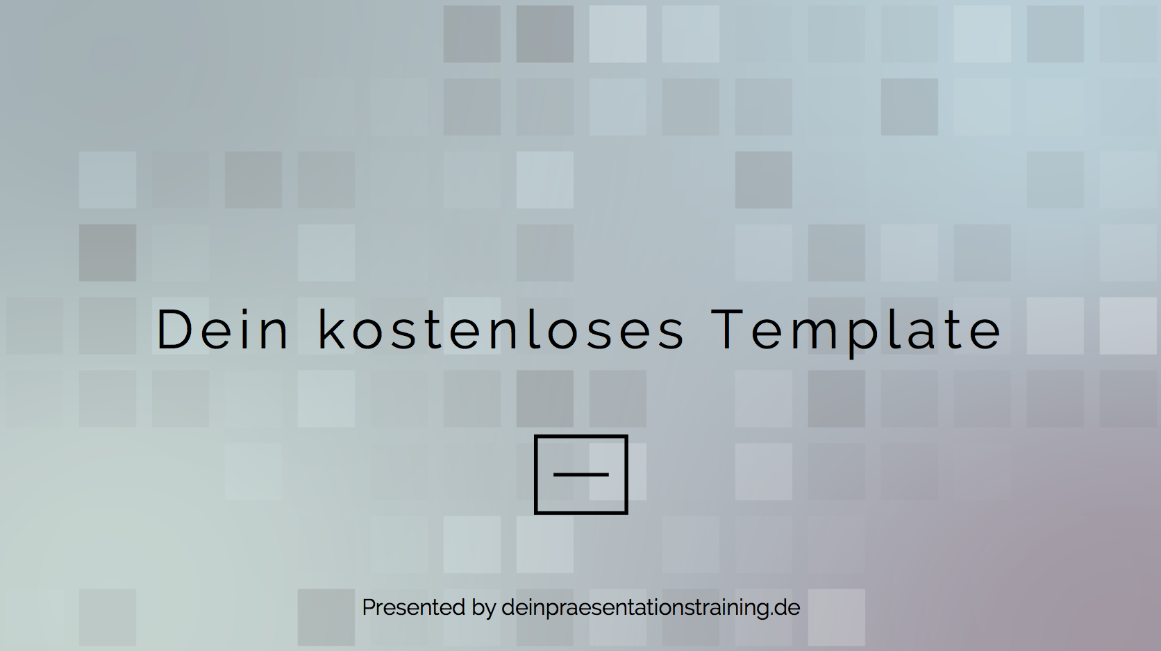 Kostenloses PowerPoint Template
